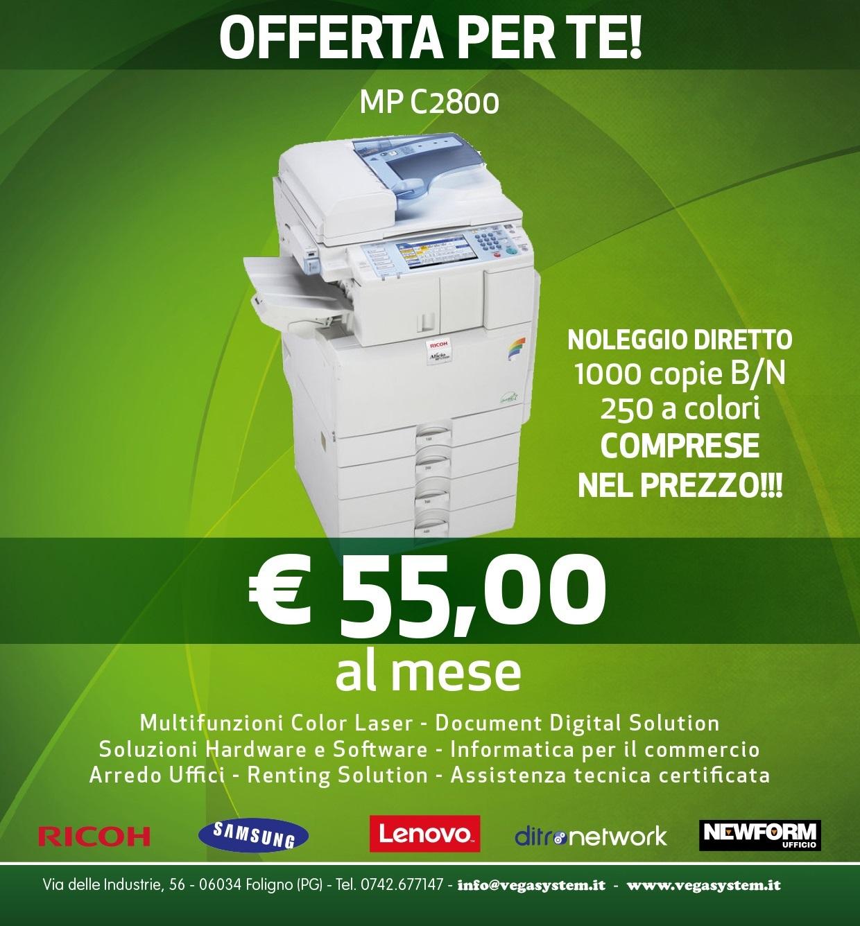 offerta-fotocopiatrice-noleggio-umbria-ricohmpc2800